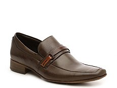 Mike Konos Leather Slip-On
