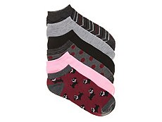 Kelly & Katie Scottie Womens No Show Socks - 6 Pack