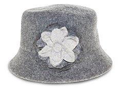 Nine West Flower Cloche Hat
