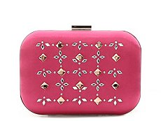 Lulu Townsend Jeweled Clutch