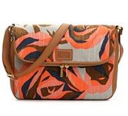 Fossil Preston Floral Flap Crossbody Bag