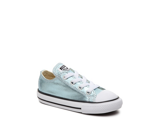 Converse Chuck Taylor All Star Metallic Girls Infant & Toddler Sneaker