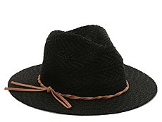 Mix No. 6 Suede Twist Panama Hat