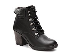 Mia Teddy Combat Boot