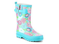 Western Chief May Gardens Girls Toddler & Youth Rain Boot