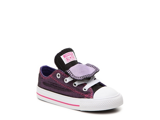 Converse Chuck Taylor All Star Double Tongue Girls Infant & Toddler Sneaker