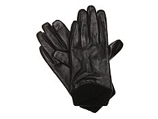 Mix No. 6 Knit Cuff Leather Driver Gloves