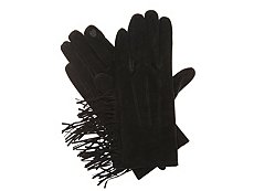 Mix No. 6 Suede Fringe Cowgirl Gloves