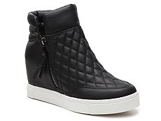 Steve Madden Linqs High-Top Wedge Sneaker