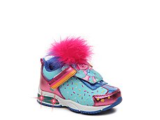 Dreamworks Trolls Girls Toddler Light-Up Sneaker