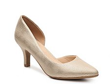 CL by Laundry Estelle Metallic Reptile Pump