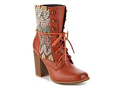 Dolce by Mojo Moxy Firebird Combat Boot