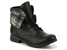 Rock & Candy Spraypaint Rhinestone Combat Boot