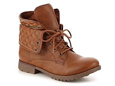 Rock & Candy Spraypaint Wool Combat Boot