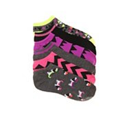 Mix No. 6 Dogs Womens No Show Socks - 6 Pack