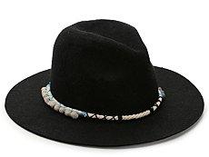 August Accessories Vintage Poms Panama Hat