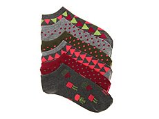 Mix No. 6 Cactus Womens No Show Socks - 6 Pack