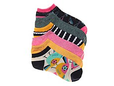 Mix No. 6 Large Birds Womens No Show Socks - 6 Pack