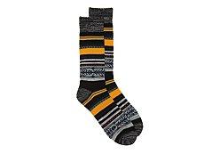 Lucky Brand Native Blanket Mens Boot Socks