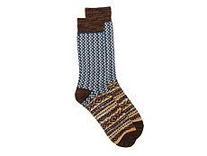 Lucky Brand Heavy Diamond Mens Boot Socks