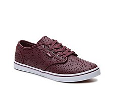 Vans Atwood Lo Perforated Leather Sneaker - Womens