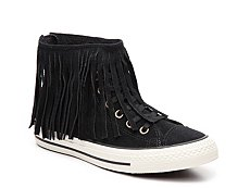 Converse Chuck Taylor All Star Fringe High-Top Sneaker - Womens
