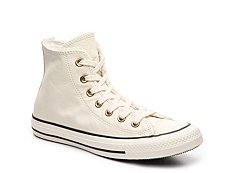 Converse Chuck Taylor All Star Faux Fur High-Top Sneaker - Womens