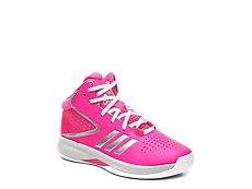 adidas Cross 'Em Up 2016 Girls Toddler & Youth Basketball Shoe