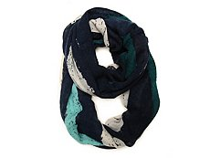Kelly & Katie Wide Stripe Infinity Scarf