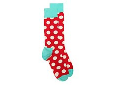 Happy Socks Big Dot Mens Dress Socks