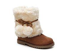 Olive & Edie Fuzzie Girls Toddler Boot