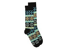 Happy Socks Fairisle Mens Dress Socks