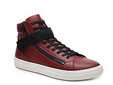Aldo Argent High-Top Sneaker