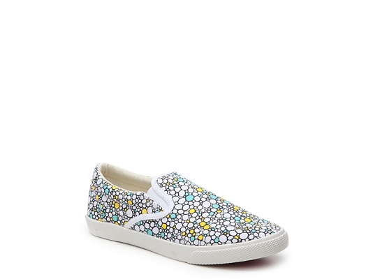 Bucketfeet Poppin Bubbles Girls Toddler & Youth Slip-On Sneaker