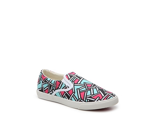 Bucketfeet Bamboo Girls Toddler & Youth Slip-On Sneaker