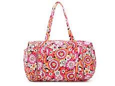 Vera Bradley Pixie Blooms Weekender Bag