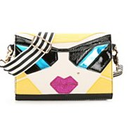 Betsey Johnson Sunglasses Crossbody Bag
