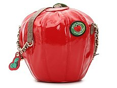 Betsey Johnson Apple Crossbody Bag
