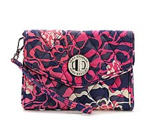 Vera Bradley Katalina Pink Your Turn Wristlet