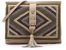Nanette Lepore Leather Clutch