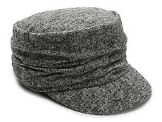 David & Young Marled Newsboy Cap