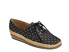 Aerosoles Summer Sol Polka Dot Oxford