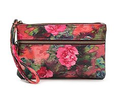 Kelly & Katie Floral Brooklyn Wristlet