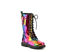 Volatile Turin Girls Toddler & Youth Combat Boot