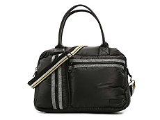 Steve Madden Byama Sparkle Weekender Bag