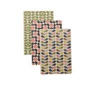 Orla Kiely Mixed Print Trio Notebooks