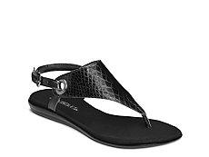 Aerosoles Conchlusion Reptile Flat Sandal