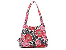Vera Bradley Cheery Blossoms Shoulder Bag