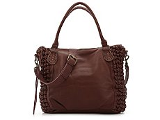 Liebeskind Greta Bellow Leather Satchel