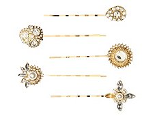 Allure Shine Bobby Pins - 5 Pack